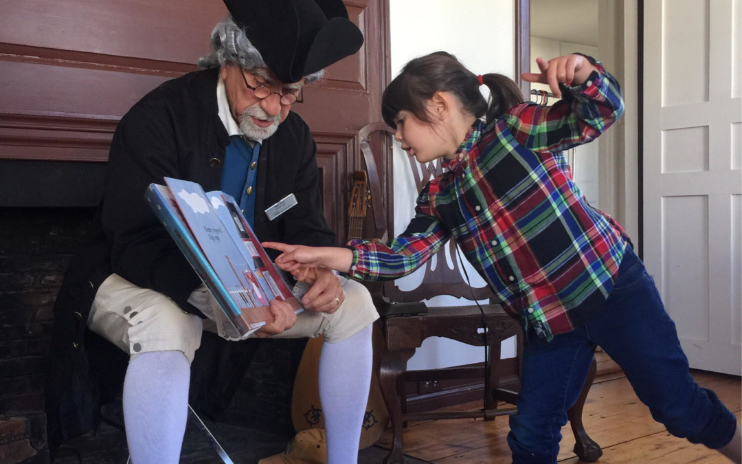 Time for stories and play at the American Independence Museum