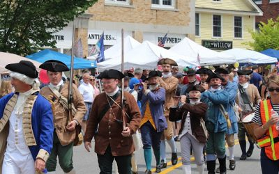 Local festival shows history 'at work'