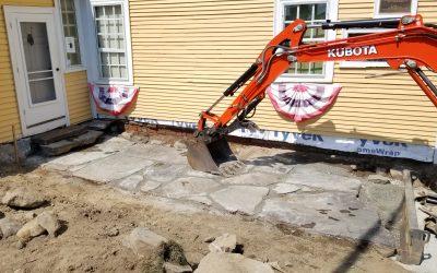 Restoration work begins at American Independence Museum